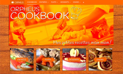 Nouveau site : Cookbook