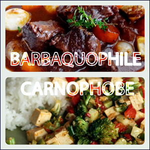 Barbaquophile Vs. Carnophobe