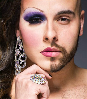 DragQueen Before And After - par Leland Bobbé